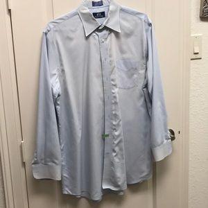 Other - Stafford light blue dress shirt